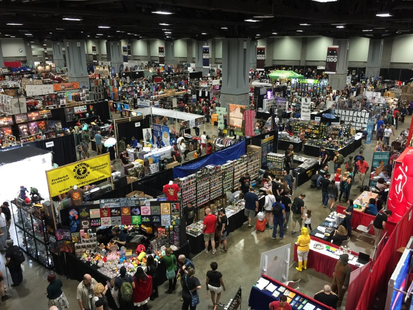 awesomecon floor