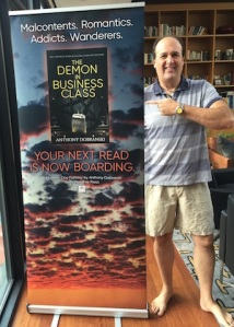 Banner with author