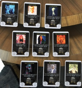 The nine Demon picture cards